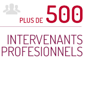 Plus De 500 Intervenants Pro